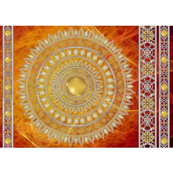 Mural no. 3232 | Non-woven or Paper | ornaments wallpaper mandala stars