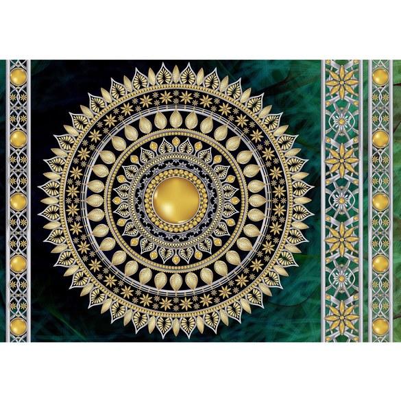 Mural no. 3234 | Non-woven or Paper | ornaments wallpaper mandala stars