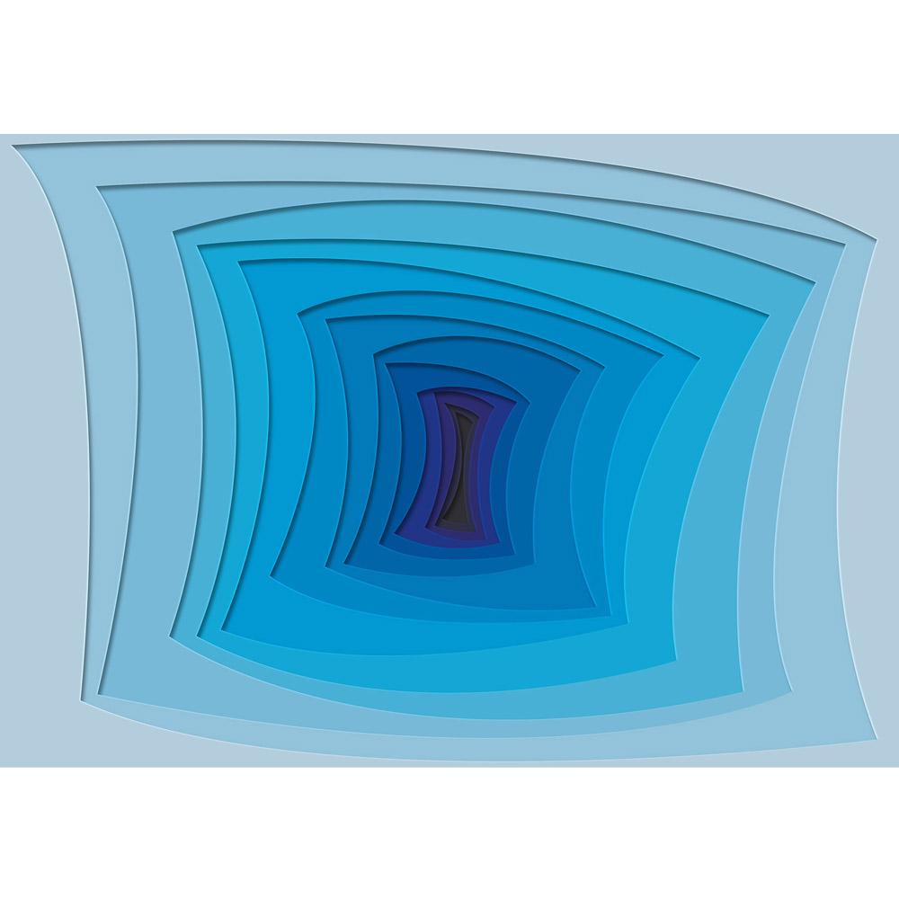 Fototapete no. 3238 | Vlies | 3D Tapete Unendlichkeit, Schwarzes Loch, Tunnel Motiv 3238