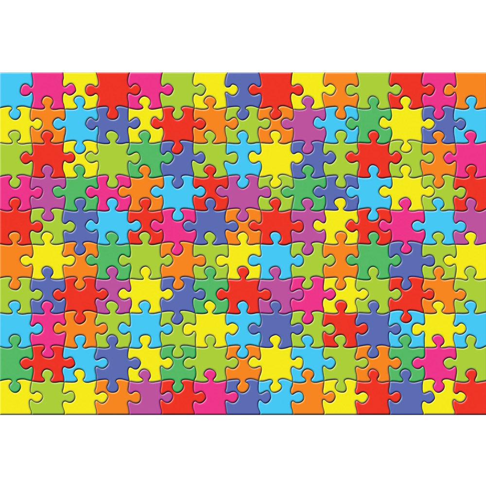 Fototapete no. 3240 | Vlies | Cartoon Tapete Puzzle, farbenfroh, mehrfarbig Motiv 3240
