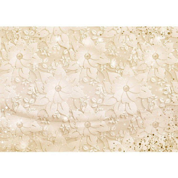 Mural no. 3265 | Non-woven or Paper | flowers wallpaper flowers leaves
