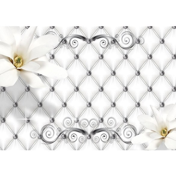 Mural no. 3276 | Non-woven or Paper | flowers wallpaper flowers leaves