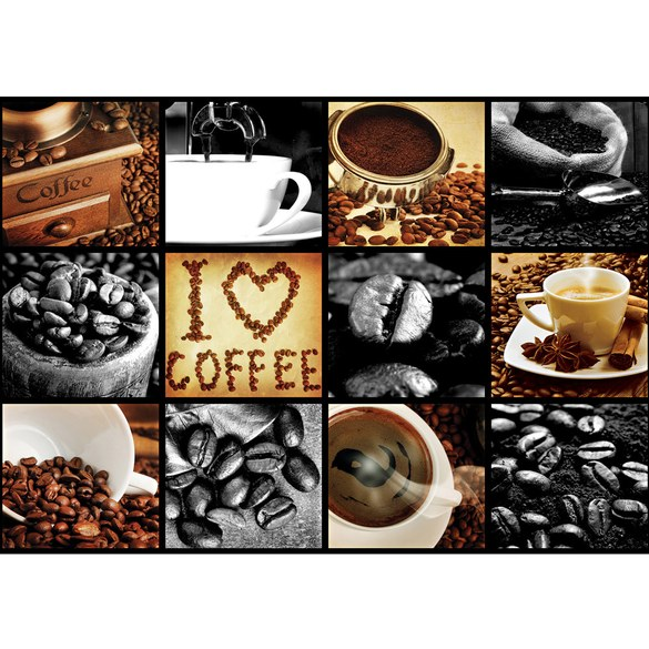 Mural no. 3280 | Non-woven or Paper | culinary wallpaper coffee barista