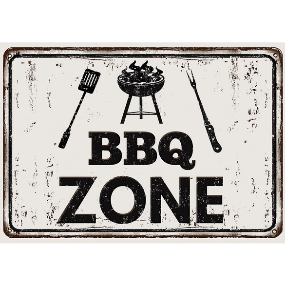 Mural no. 3282 | Non-woven or Paper | culinary wallpaper bbq zone barbecue
