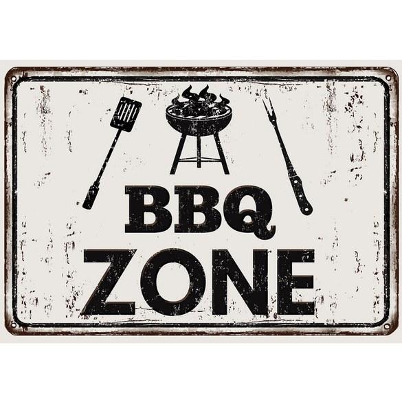 Fototapete no. 3282 | Vlies | Kulinarisches Tapete BBQ Zone, Grill Grill, grillen Motiv 3282