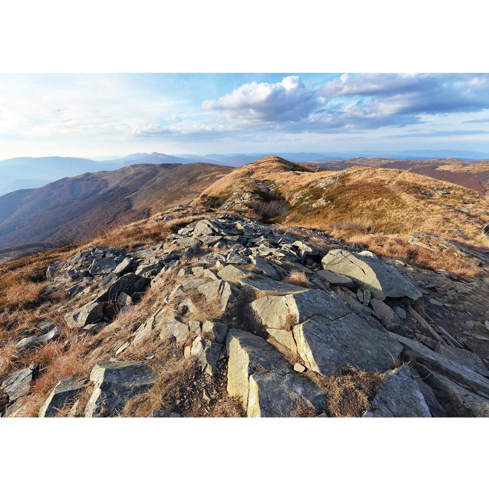Fototapete no. 3352   Vlies   Berge Tapete Gebirge, Bergkamm, Felsen natural Motiv 3352