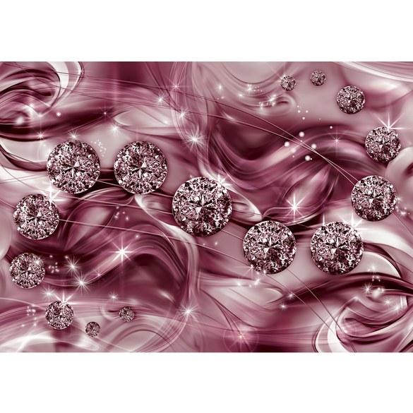 Mural no. 3370 | Non-woven or Paper | ornaments wallpaper diamonds stars
