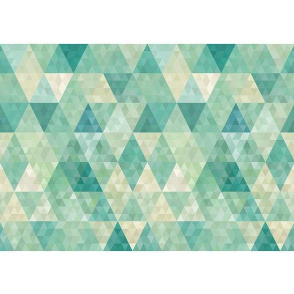 Mural no. 3405 | Non-woven or Paper | ornaments wallpaper polygons triangles