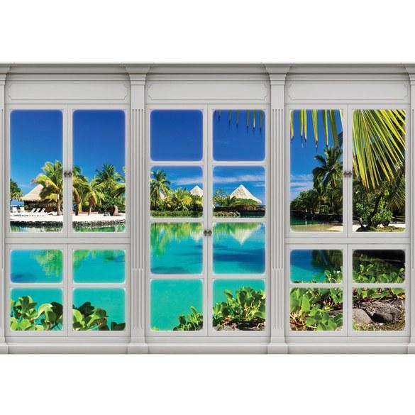 Fototapete no. 3418 | Vlies | Meer Tapete Mittelmeer, See, Strand, Karibik, Motiv 3418