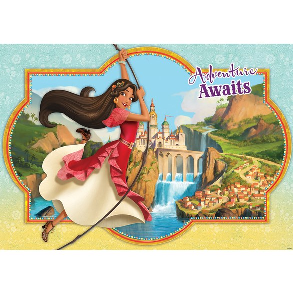 Mural no. 3443 | Non-woven or Paper | children wallpaper princess castle
