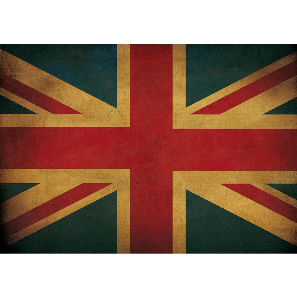 Fototapete no. 3449 | Vlies | Texturen Tapete Union Jack, Flagge, UK, Großbritannienbunt Motiv 3449