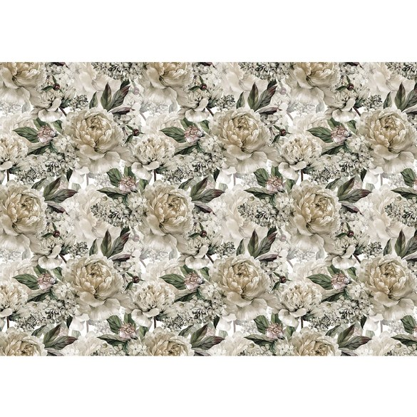 Mural no. 3549 | Non-woven or Paper | flowers wallpaper roses flowers