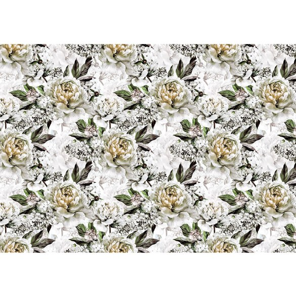 Mural no. 3550 | Non-woven or Paper | flowers wallpaper roses flowers