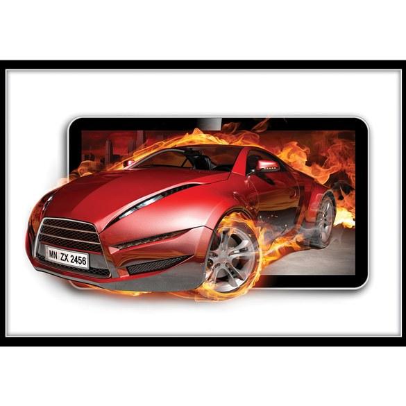 Fototapete no. 3563 | Vlies | Autos Tapete Sportwagen, Fahrzeug rot Motiv 3563