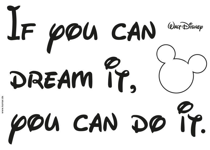 1-4002 You Can Do It Wandsticker