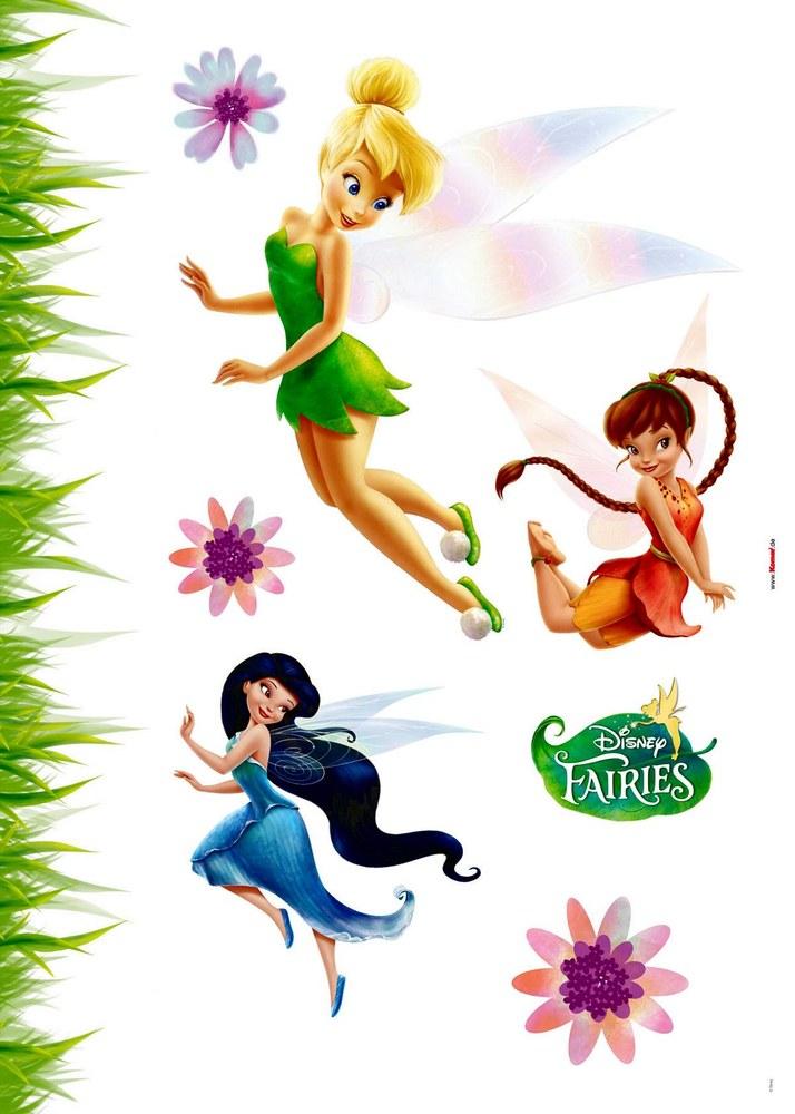 1-4011 Fairies Wandsticker