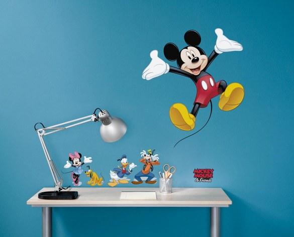 1-4017 Micky Maus und seine Freunde Wandsticker – Bild 2