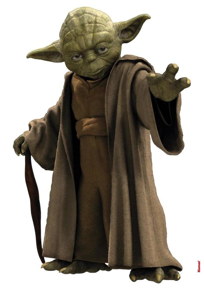 1-4721 Star Wars - Yoda Wandsticker