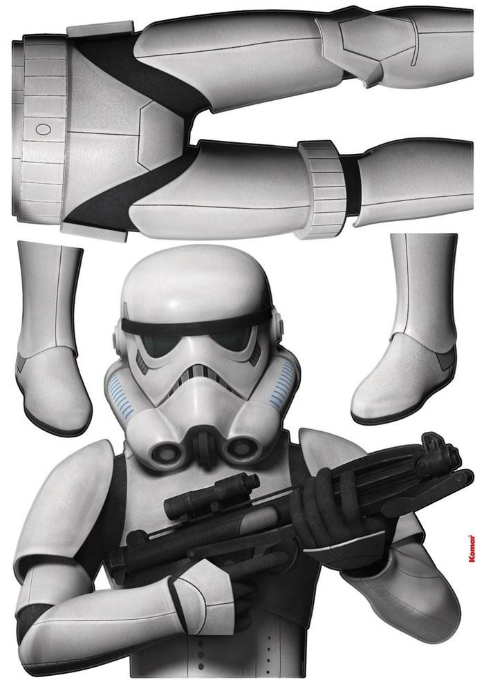 1-4722 Star Wars - Sturmtrupp Soldat Wandsticker