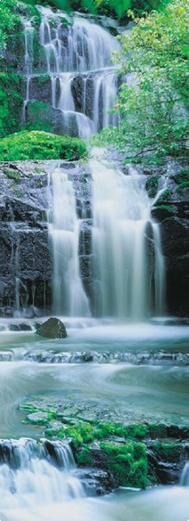 2-1256 Pura Kaunui Falls door wallpaper