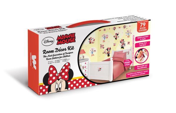 DW-41431 Wandtattoo Minnie Maus von Disney Wandtattoo | Tapeto Kids