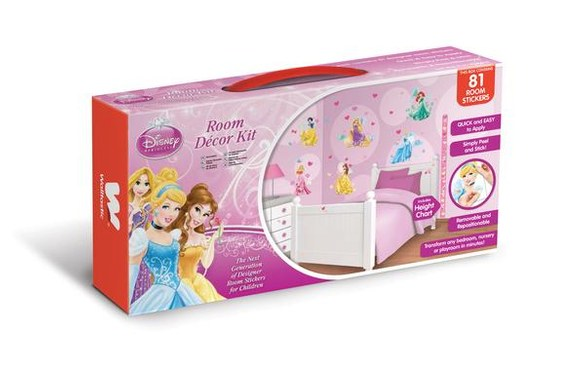 DW-41455 Disney Princess Room Decor Kit wall tattoo