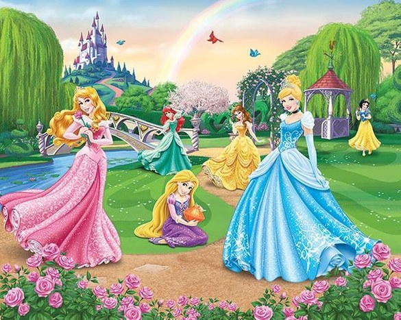 DW-42087 Disney Princess Fototapete