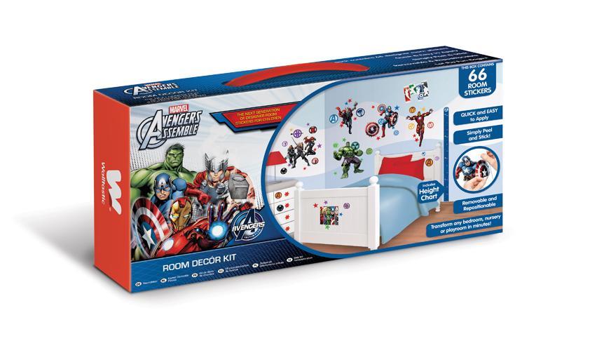 DW-43138 Wandtattoo Marvel: Avengers Assemble Wandtattoo