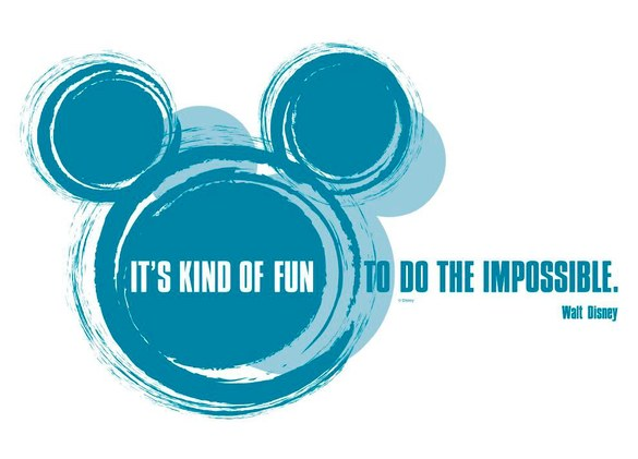 ASA-4012 Micky Maus It's kind of fun Wandsticker