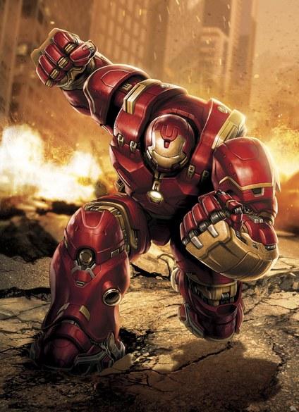 APD-457 Avengers - Hulkbuster Fototapete