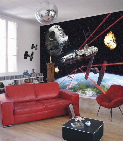 APH-489 Star Wars - Millennium  Falke Fototapete – Bild 2