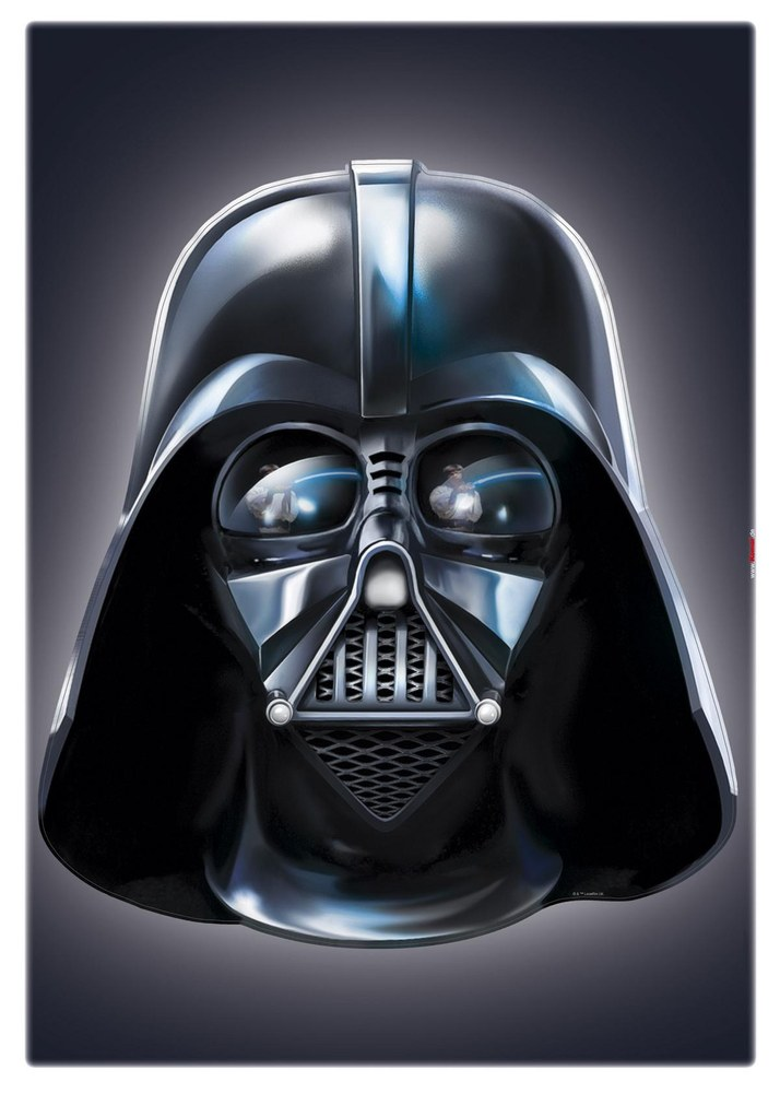 ASA-4027 Star Wars - Darth Vader Helm Wandsticker