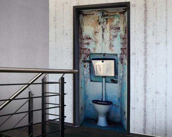 Tür 2.0 Türtapete WC – Bild 2