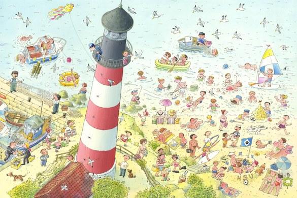 0351-3 Wandbild - Motiv: Strand