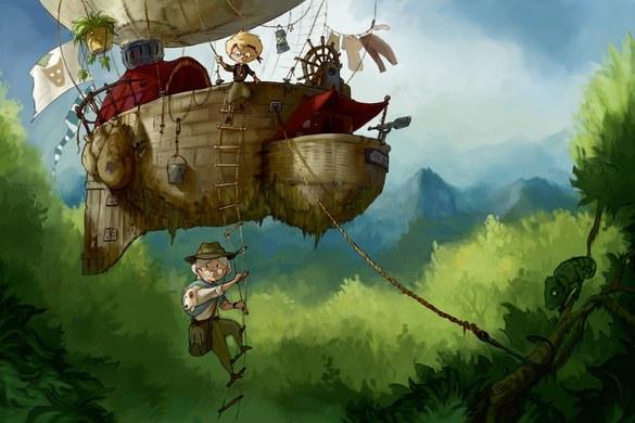 0351-4 Wandbild - Motiv: Adventure