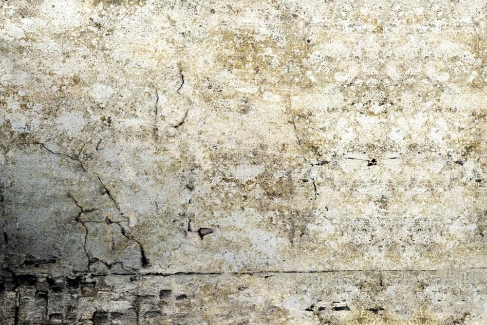 0367-3 Wandbild - Motiv: Putzwand im Vintage-Look