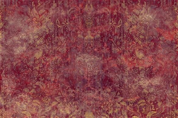 0367-5 Wandbild - Motiv: Florale Ornamente im Vintage-Look