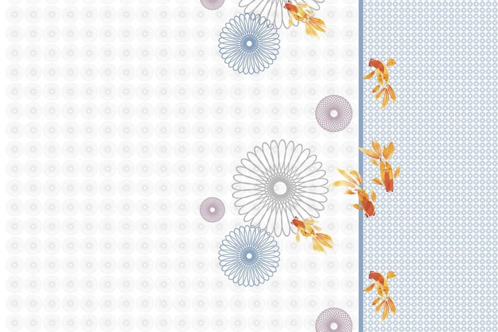 0369-8 Wandbild - Motiv: Stilisiertes Aquarium