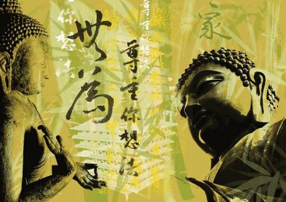 47-003 mural - design: Buddha Glow