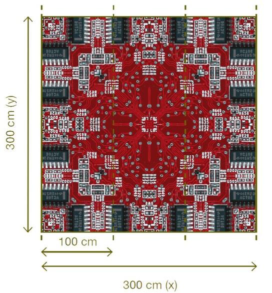 47-008 Wandbild - Motiv: Electric Red – Bild 3