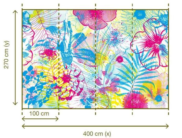 47-024 Wandbild - Motiv: Blumen – Bild 2
