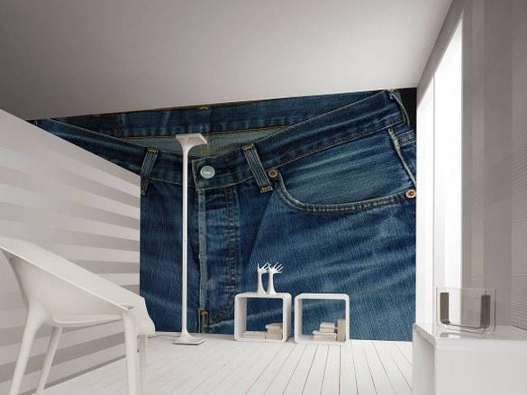 47-092 Wandbild - Motiv: Jeans – Bild 2