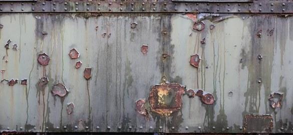47-111 Wandbild - Motiv: Rostiges Metall
