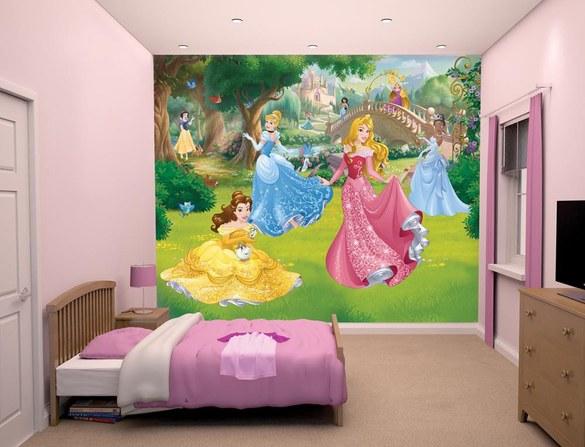 DW-43800 Disney Princess Fototapete – Bild 2