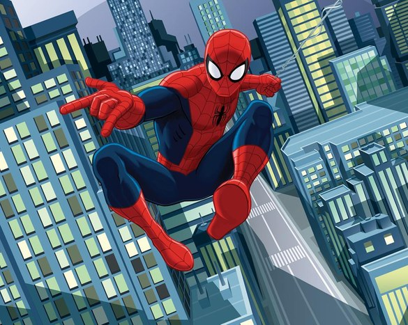 DW-43824 Marvel: The Ultimate Spiderman Fototapete