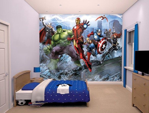 DW-43848 Avengers Assemble Fototapete – Bild 2