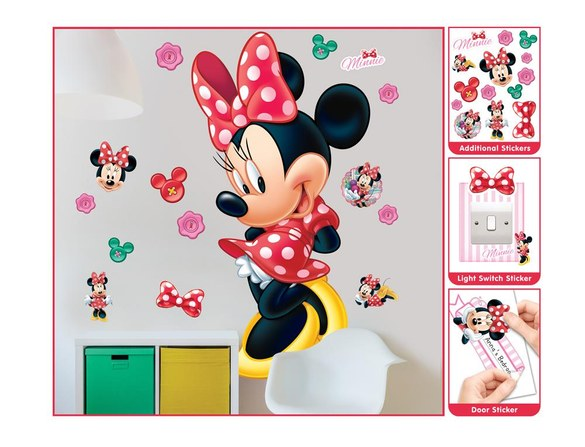 DD-426 Wandsticker: Minnie Maus Wandsticker