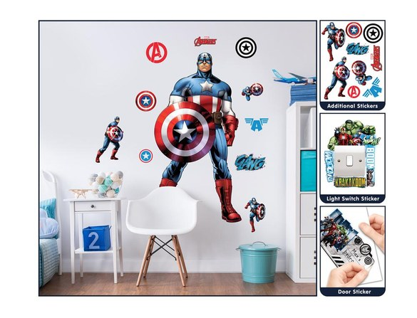 DD-427 Captain Large Character wall sticker