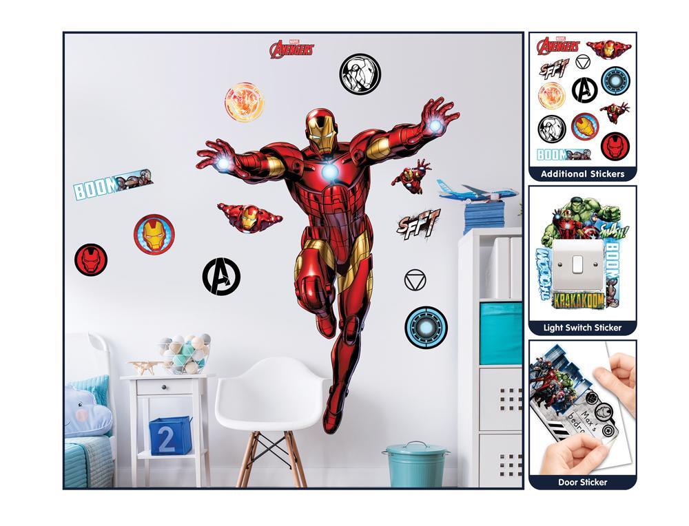 DD-429 Wandsticker: Iron Man Wandsticker