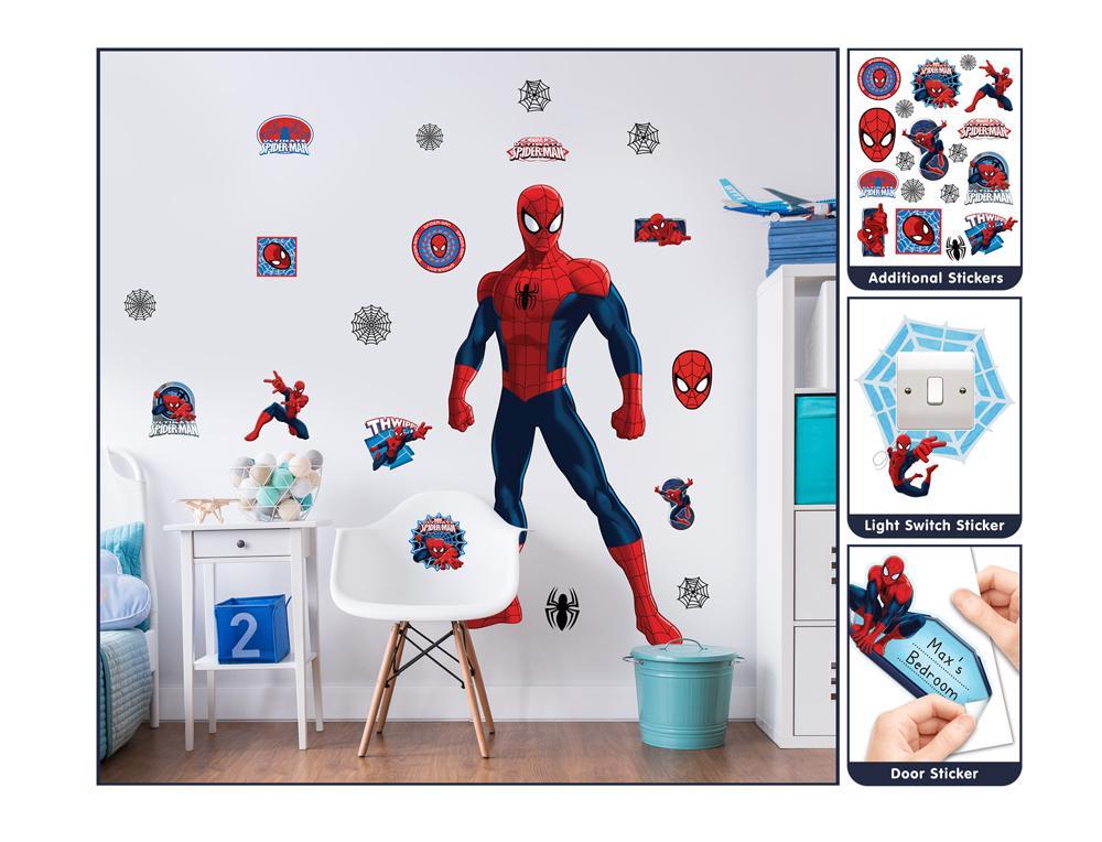 DD-430 Spiderman Large Character wall sticker - Tapeto